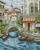 Алмазная вышивка Улица в Венеции