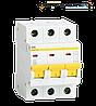 Автоматический выключатель ВА47-29 3P 10A  IEK