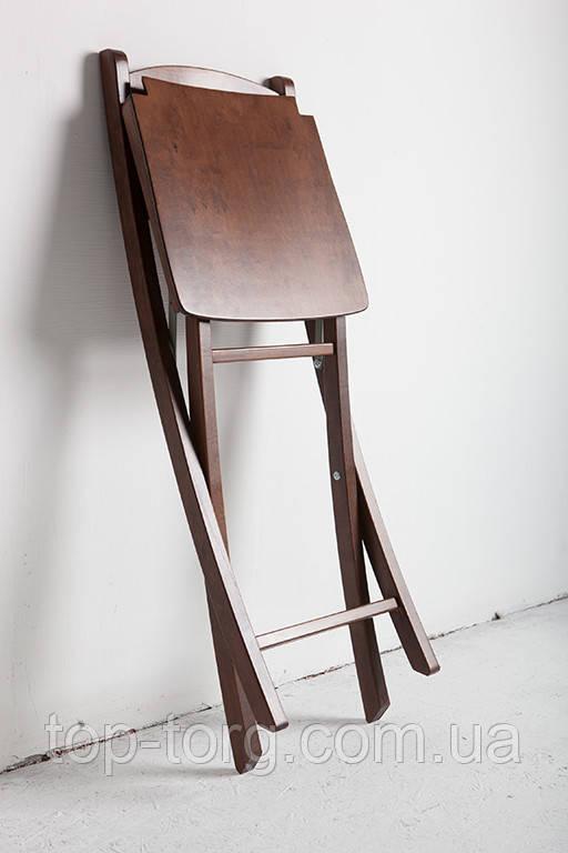 Розкладний стілець Silla Сілла в коричневому кольорі wood дерев'яні складані стільці