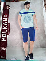 Мужская футболка и бриджи в комплекте Polkan
