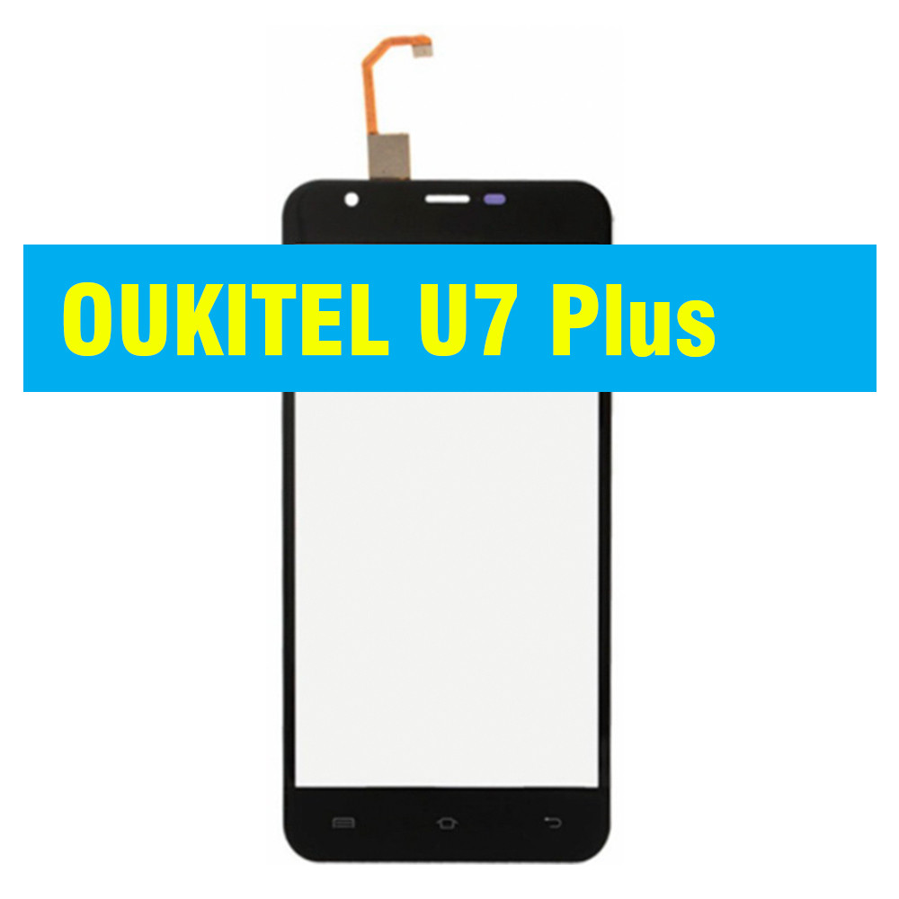 Cенсорный экран Oukitel U7 Plus BLACK (тачскрин, сенсор)