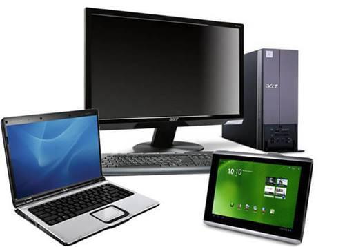 Компьютеры, ноутбуки, мониторы, компьютерные комплектующие