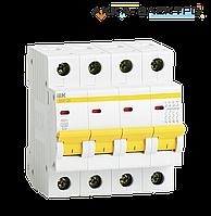 Автоматический выключатель ВА47-29 4P 25A  IEK