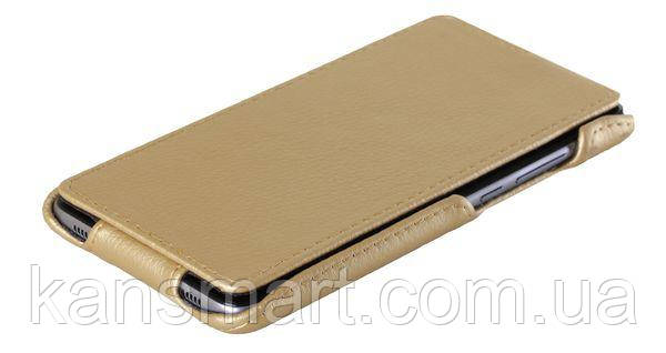 Чехол на HUAWEI Y7 RED POINT - FLIP LUXE GOLD