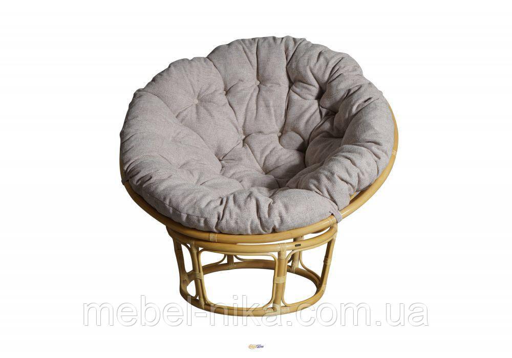 Кресло Папасан с подушкой ротанг 2301