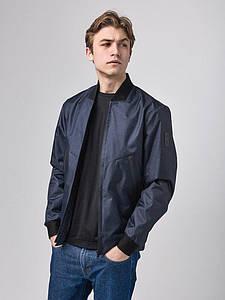 Мужская весенняя куртка бомбер джинс Б1