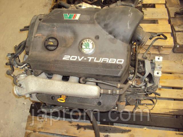 Мотор (Двигатель) Seat Leon VW Golf Audi A3 1.8 T AUM 150л.с 2002r
