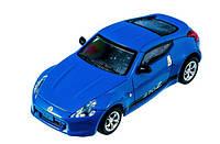 Машинка на радиоуправлении лицензионная Nissan 370Z синяя (машинки на пульте управления)