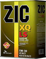 Моторное масло Zic XQ LS 5W-30 (Канистра 4литра) низкозольное (бензин + дизель), фото 1