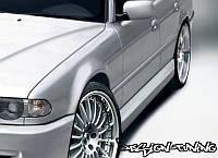 Накладки на пороги тюнинг обвес BMW E38
