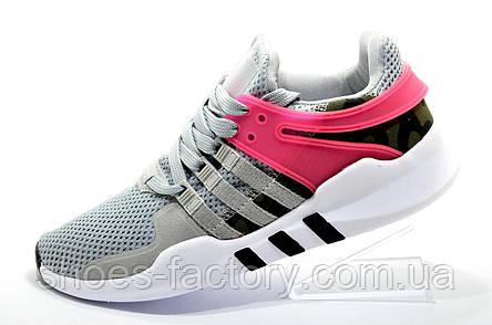 Женские кроссовки в стиле Adidas EQT Support ADV, Gray\Pink, фото 2