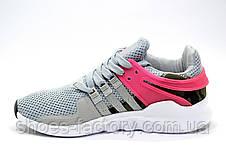Женские кроссовки в стиле Adidas EQT Support ADV, Gray\Pink, фото 3
