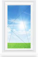 Вікно Veka Euroline-Plus 800\1300мм глухе, фото 1