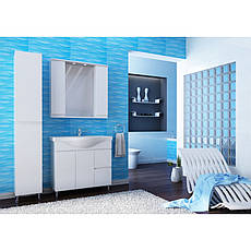 Пенал для ванной комнаты Моника Нова МШП2-белый  Ювента, фото 2