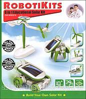 Игрушка RobotiKits на солнечной энергии 6 в 1