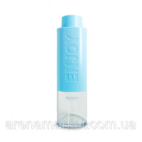 Пляшка для води Remax Enjoy Happy RCUP-09 530 мл - блакитний