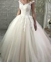 Свадебное платье плечики