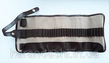 Пенал-Сверток DERWENT для 30 карандашей и аксессуаров тканевый 700434, фото 3