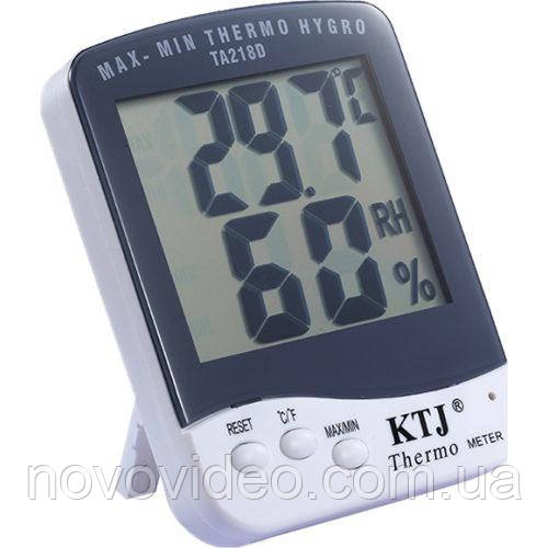 Измеритель температуры и влажноcти TA218D