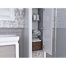 Пенал для ванной комнаты Тичино TcP-190-Dab-pastelowy  Ювента, фото 2