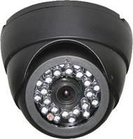Купольная камера видеонаблюдения c ИК-подсветкой RVi-E125 (3.6 мм)