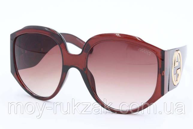 Солнцезащитные поляризационные очки Gucci, реплика, 751826, фото 2