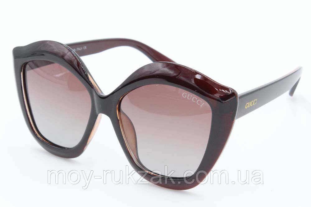 Солнцезащитные поляризационные очки Gucci, реплика, 751877