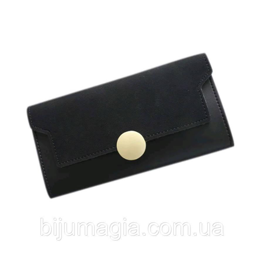 Кошелек женский черный 11376-б