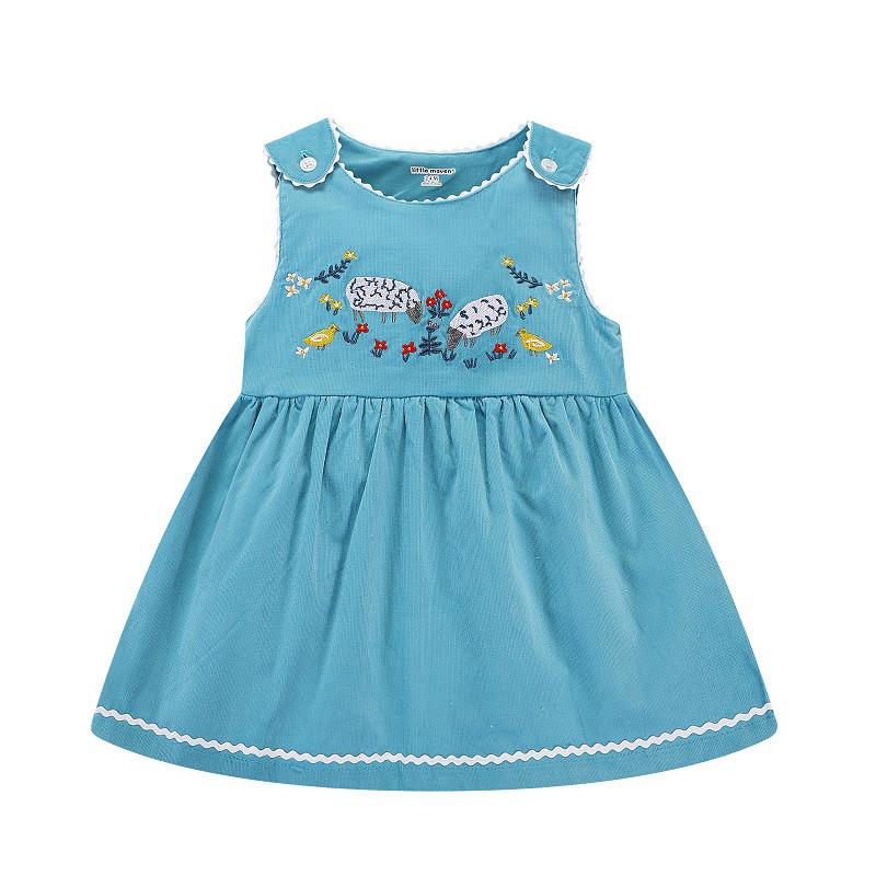 Платье для девочки Lamb  3Т на рост 100см брэнд Little Maven