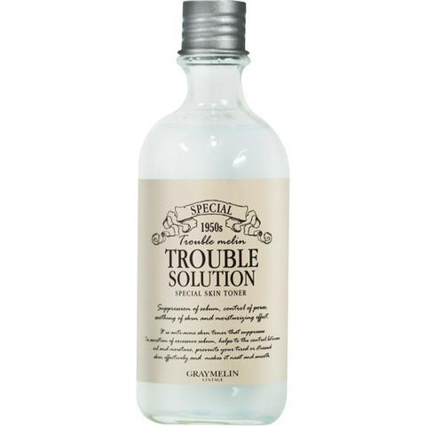 Тонер против акне Trouble Solution Special Toner GRAYMELIN -130 мл