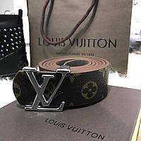 Belt Louis Vutton Initiales 40MM Silver Monogram (реплика)