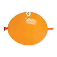 """Оранжевый пастель tet-a-tet линколун  6"""" (16 см) шарик для моделирования ТМ Gemar"""