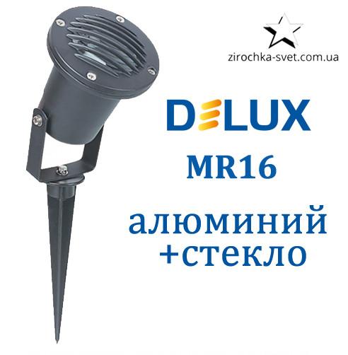 Грунтовый светильник под лампу MR16 DELUX GROUND 02