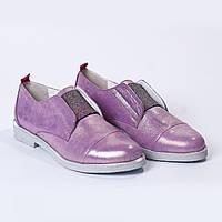 Туфли сиреневые
