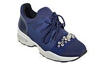 Синие женские кроссовки Verendina стильная модель