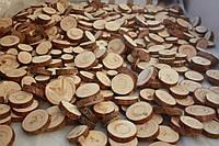 Спил сосны 1.5-5 см