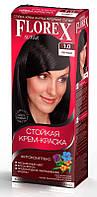 Краска для волос Florex Чёрный 1.0