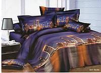3D Комплект двуспального постельного белья Ranforce - Маями