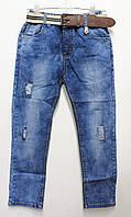 Стильные, модные джинсы для мальчиков на лето пояс-резинка. От 3 до 8 лет (98-128см.) Польша.