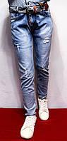 Весенне-летние стрейчевые джинсы для мальчиков-подростков от 8 до 16 лет (134-164см.). Польша.