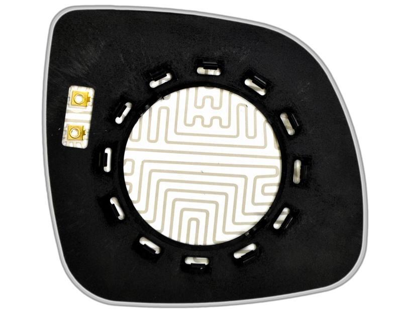 Зеркальный элемент (стекло зеркала) AUDI Q7 левый асферический с обогревом