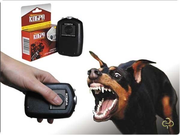 Ультразвуковой отпугиватель собак Кобра