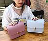 Элегантная матовая сумка клатч на цепочке, фото 4
