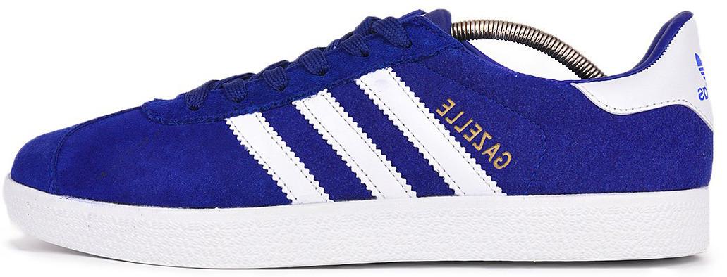 Мужскиекроссовки adidas Gazelle (Адидас Газели) синие