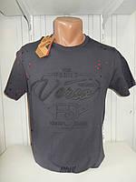Футболка мужская FODILS  стрейч коттон, 3D 001\ купить футболку мужскую оптом