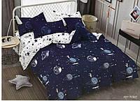 3D Комплект постельного белья Евро размера Ranforce - Ночное небо