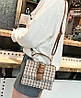 Твердая тканевая сумка сундук с пряжкой, фото 4