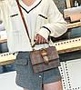 Твердая тканевая сумка сундук с пряжкой, фото 3