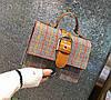 Твердая тканевая сумка сундук с пряжкой, фото 5