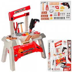 Детская набор инструментов (Верстак красный) ( T106-2)